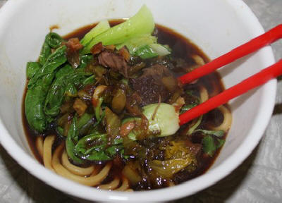 Beefy Noodles Soup Recipe
