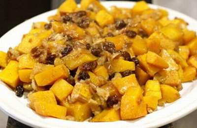 Butternut Squash with Brown Sugar and Cinnamon