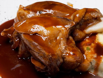 Lamb Shanks in Red Wine Sauce