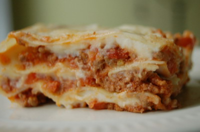 Lazy Lasagna Slow Cooker Style