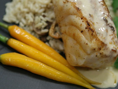 Lemon Dijon Fish
