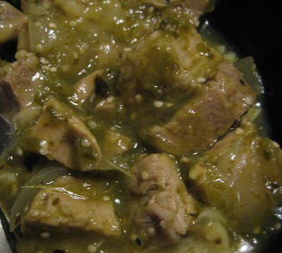 Slow Cooker Chile Verde - Delicious slow cooker recipe.