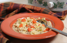 Slow Cooker Chicken Recipes - Hearty Chicken Noodle Soup